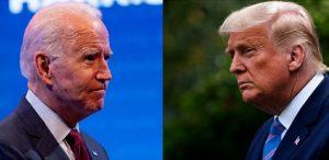 דונלד טראמפ נגד ג'ו ביידן צילום Associated Press